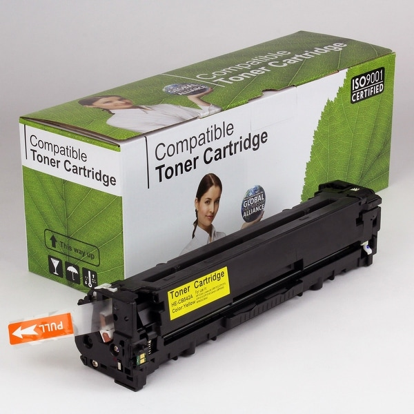 Value Brand replacement for HP 125A Yellow Toner CB542A (1,400 Yield)