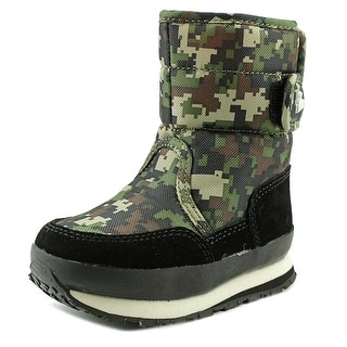 Rubber Duck Classic Snow Jogger Round Toe Synthetic Snow Boot