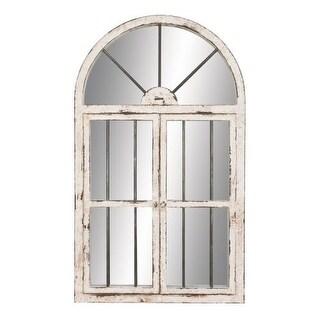 "Aspire Home Accents 74397 42"" Arched Window Wall Mirror"