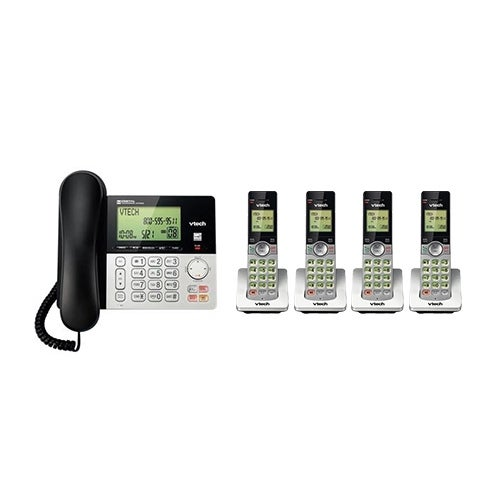 """Vtech CS6949-2 and 2 CS6909 5 Handset Corded Cordless Phones"""