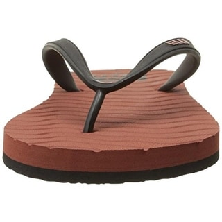 Reef Mens Textured Colorblock Flip-Flops - 7 medium (d)