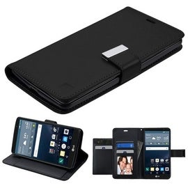 Insten Stand Folio Flip Leather Wallet Flap Pouch Case Cover For LG G Stylo LS770