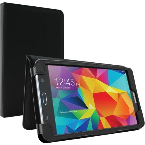 Hama Photo U6126739 Folio Style Case Black w/ Dirt Resistant Interior for Samsung Galaxy Tab 4 8.0