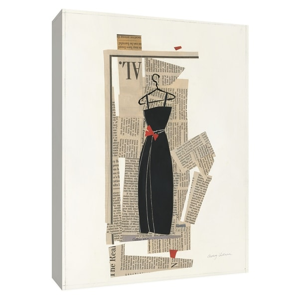 """PTM Images 9-154762 PTM Canvas Collection 10"""" x 8"""" - """"Fashion Pages III"""" Giclee Dresses Art Print on Canvas"""