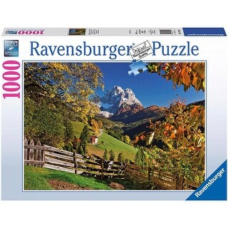 Mountains in Autumn 1000 Piece Puzzle