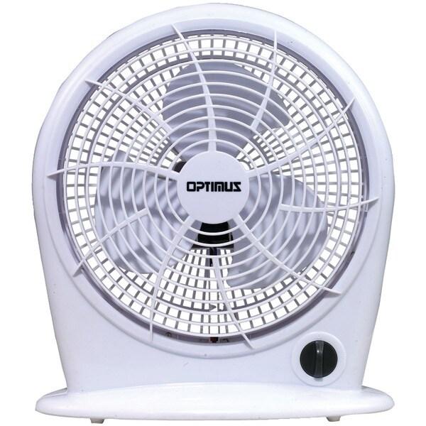 """OPTIMUS F-1030 10"""" Stylish Personal Fan"""