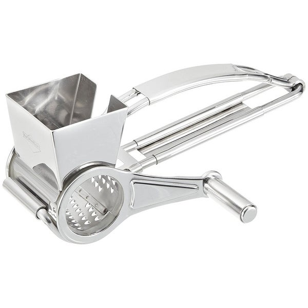 Kuchenprofi K1310212800 Grater with Single Drum / Cheese Mill Stainless Steel - STAINLESS STEEL