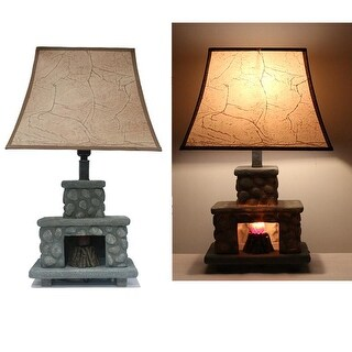"KANSTAR 20"" Fireplace Table Lamp"