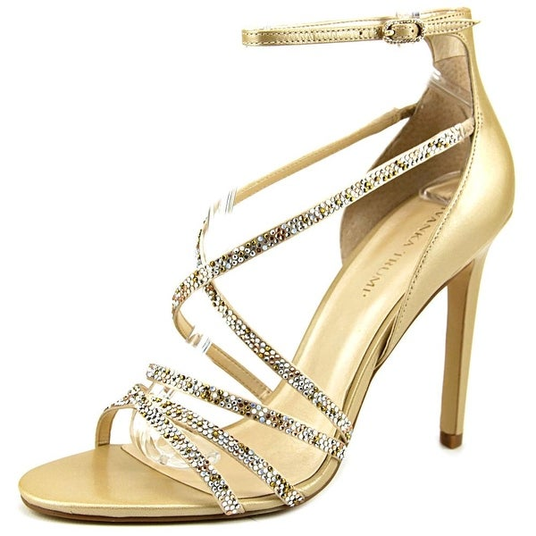Ivanka Trump Hyde Open Toe Leather Sandals