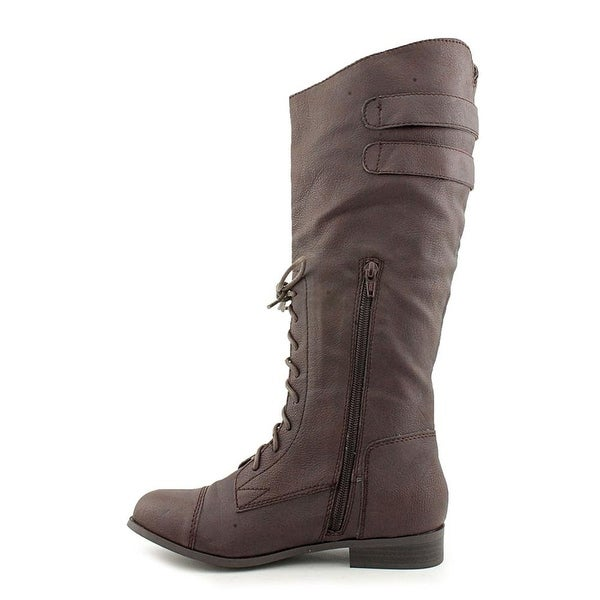 American Rag Womens Saddle Round Toe Mid-Calf Riding Boots