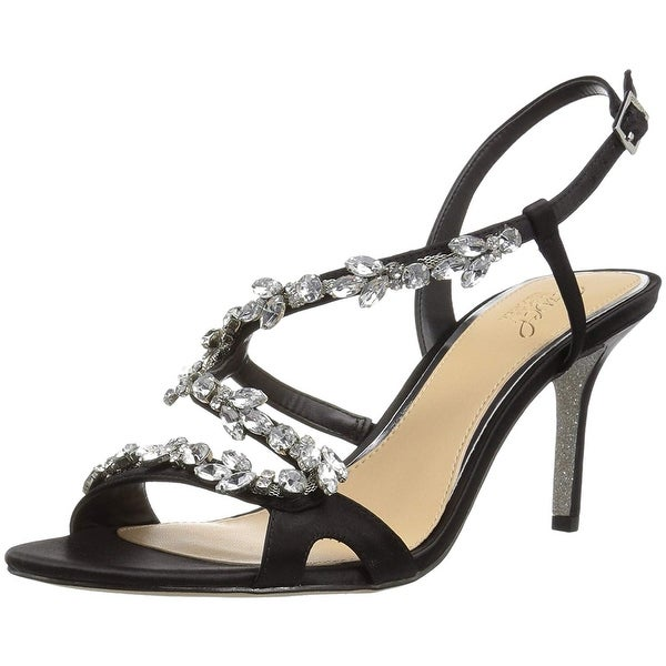 61b7ef3617d Shop Badgley Mischka Jewel Women s Ganet Heeled Sandal - Free ...