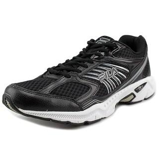 Fila Inspell Men Round Toe Synthetic Black Running Shoe