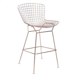 Zuo Modern 100362 Wire Bar Stool