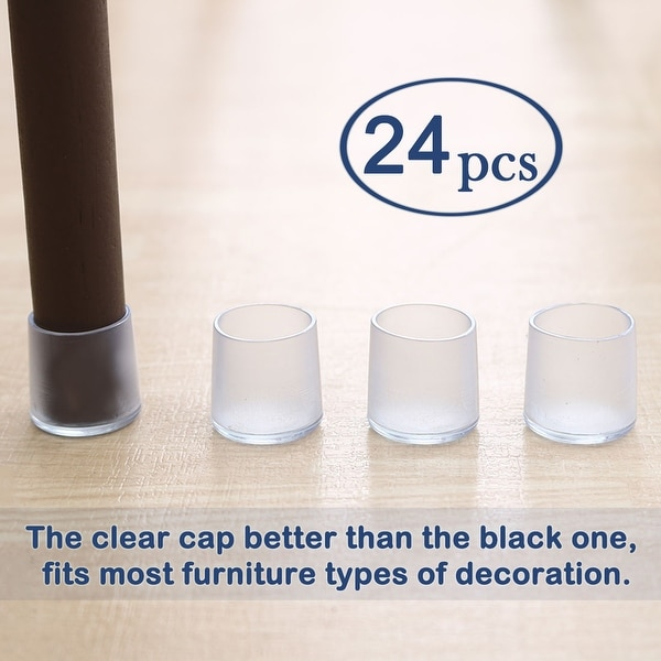 3 Colors Plastic Chair Table Leg Furniture Glide Tips Buy More Save More!