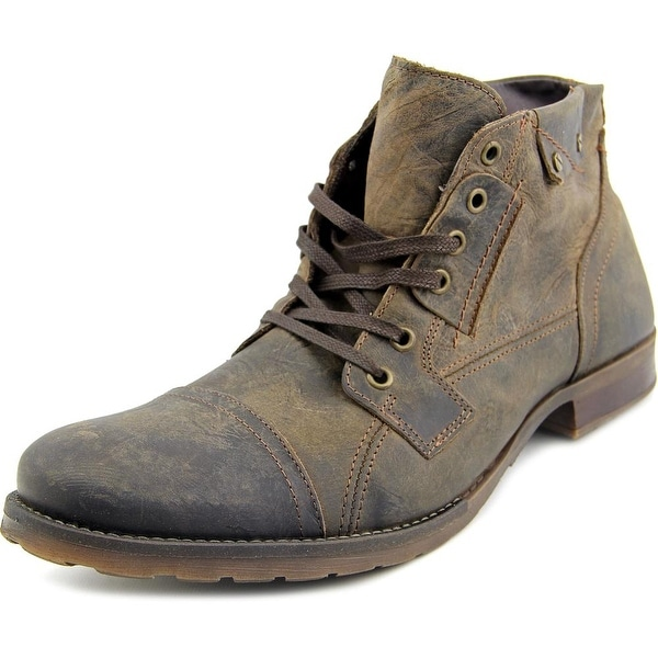 Bull Boxer Brosus Men Cap Toe Leather Brown Boot