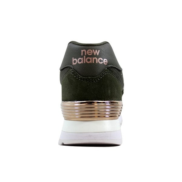 new balance 574 olive