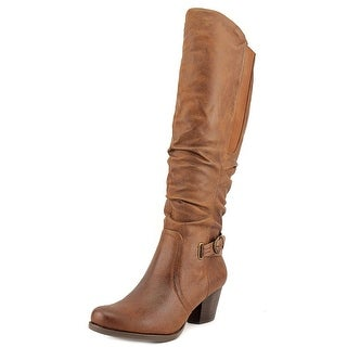 Baretraps Rosemary Round Toe Synthetic Knee High Boot