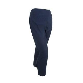 Charter Club Women's Classic Fit Slim Leg Stretch Pants