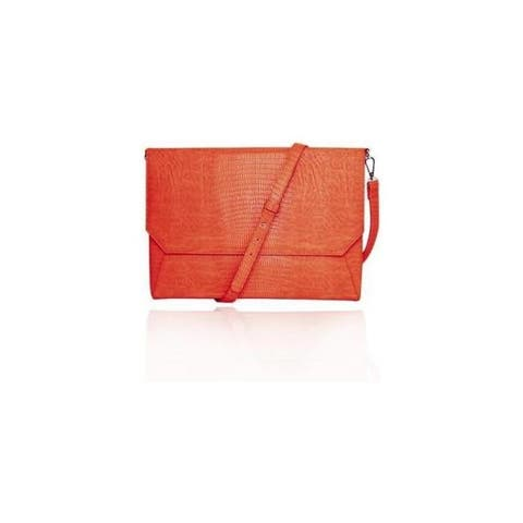 Fabrique ffs14orsnakenve lenox orange shoulder strap