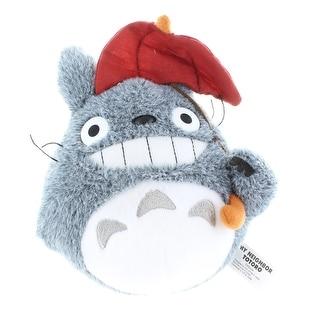 "My Neighbor Totoro 4"" Plush Totoro with Umbrella"