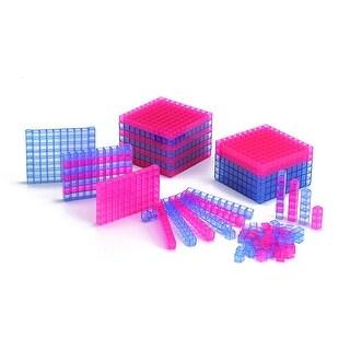 Transparent Interlocking Base Ten Starter Set