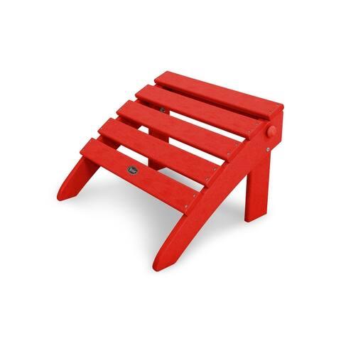 Trex Outdoor Furniture Cape Cod Folding Ottoman