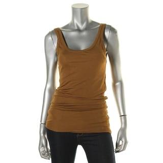 Zara W&B Collection Womens Scoop Neck Sleeveless Tank Top