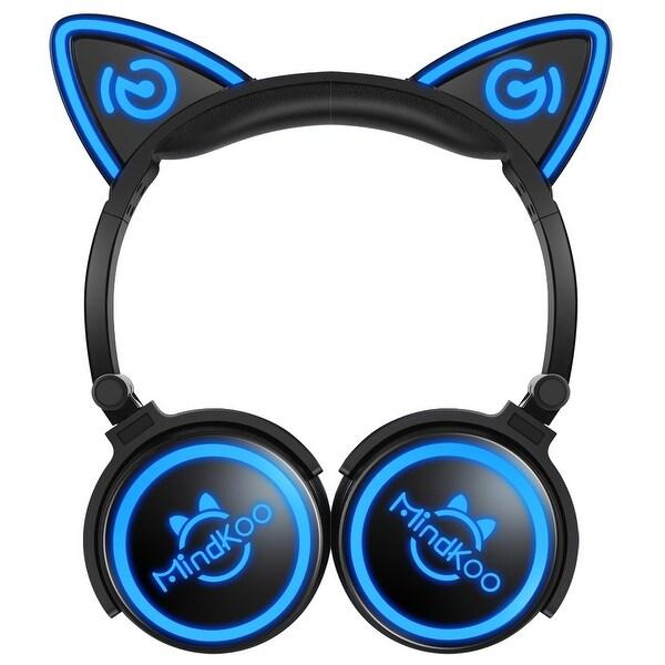 Mindkoo Unicat Wireless Cat Ear Headphones LED Light