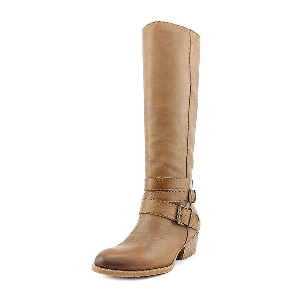Kenneth Cole Reaction Womens Raw Deal Fabric Almond Toe Knee High Fashion Boots