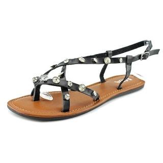 Mia Peace Open-Toe Synthetic Slingback Sandal