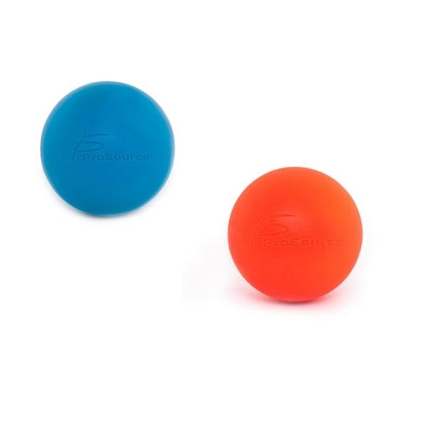 "ProsourceFit Lacrosse Massage Ball for Self-Myofascial Release Deep Tissue - 2.5"" Diameter. Opens flyout."