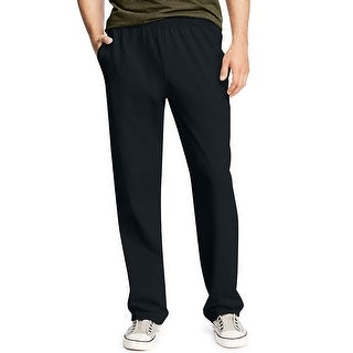 Hanes X-Temp® Men's Jersey Pocket Pant - Size - L - Color - Black