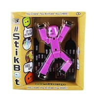 "Stikbot 6"" Action Figure: Solid Purple - multi"