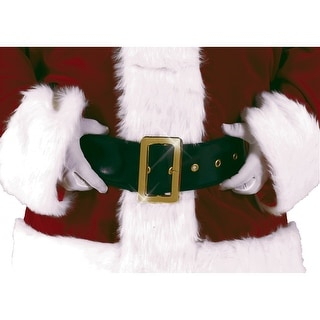 Deluxe Santa Belt Adult Costume Accessory