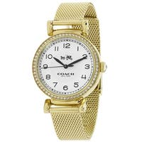 Coach Women's Madison 14502652 White Dial watch