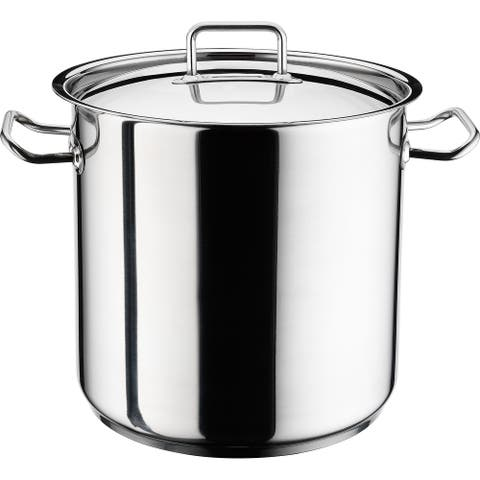 Chef's Induction Stockpot with Lid, Multi-Purpose Cookware