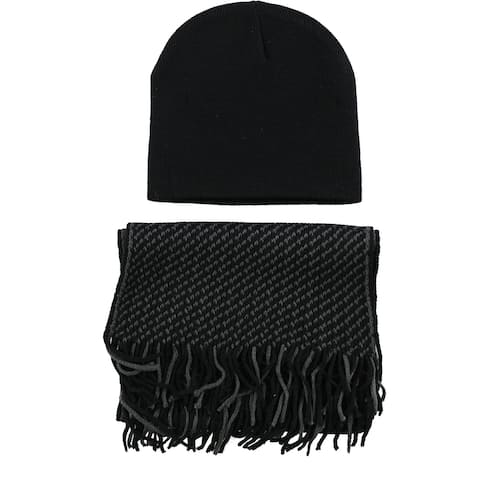 Club Room Mens Hat Scarf - One Size