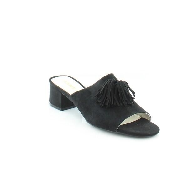 Anne Klein Salome Women's Sandals & Flip Flops Black