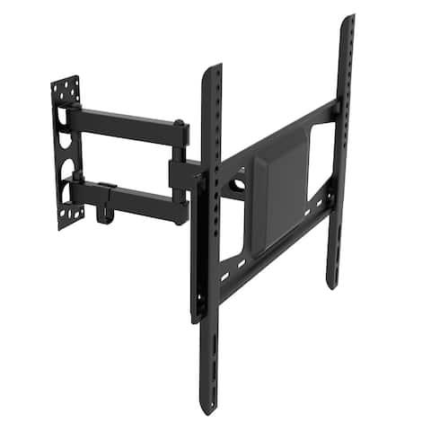 """Fleximounts A26 Full Motion Articulating TV wall mount tilt swivel bracket fit for 26-55"""" HD 4K LED LCD TV Screen"""