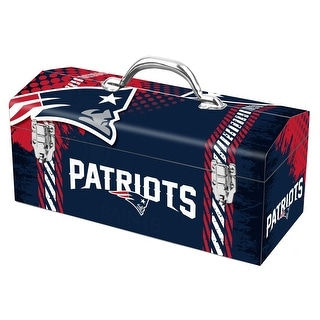 Sainty International 79-318 New England Patriots Art Deco Tool Box