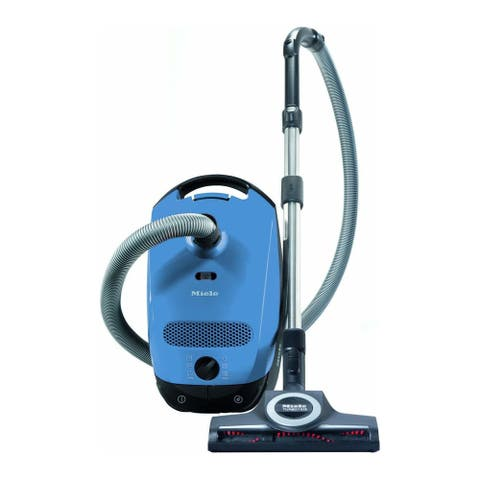 Miele Classic C1 Turbo Team Canister Vacuum Cleaner (Mystique Blue)