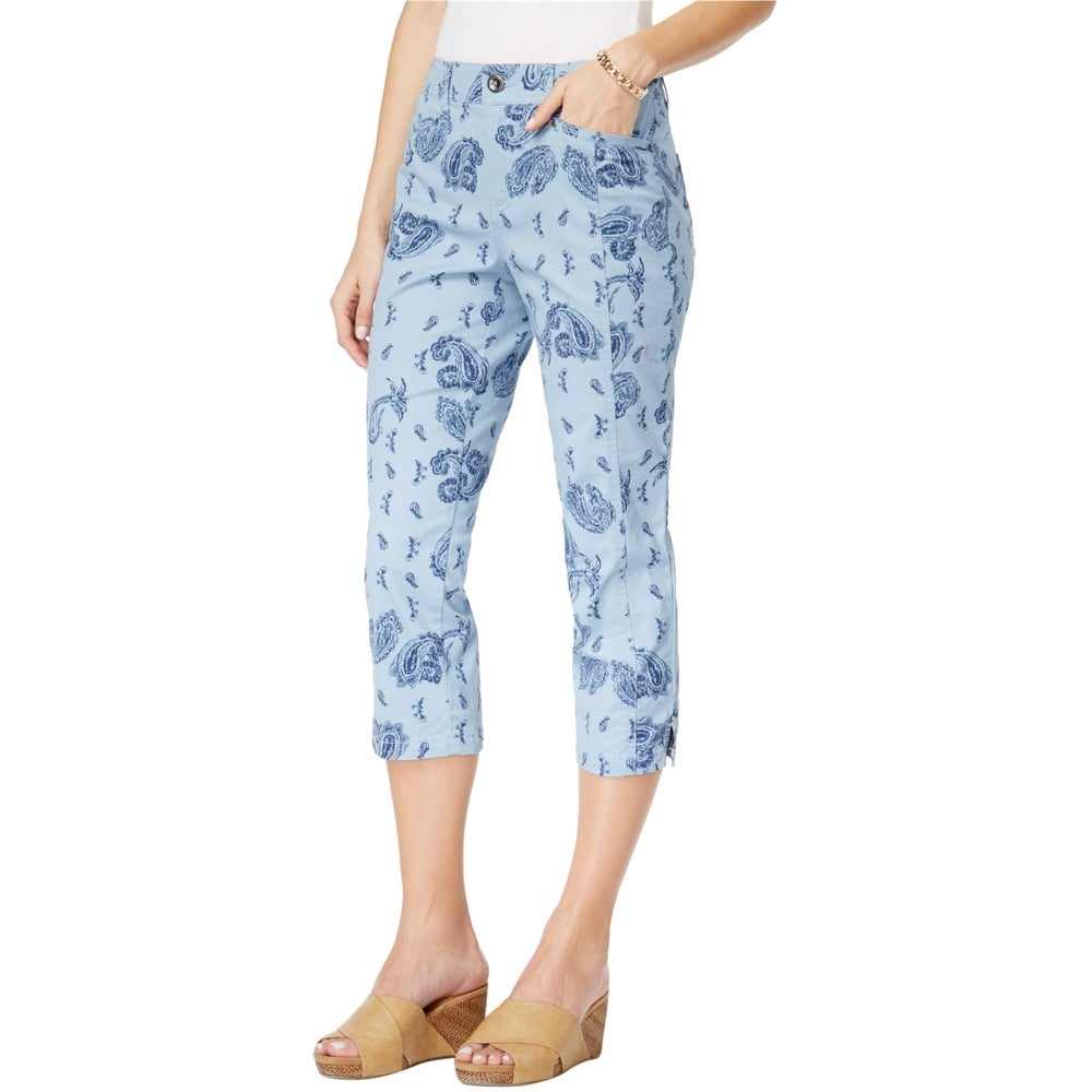 Style&Co. Womens Tummy Control Casual Trousers