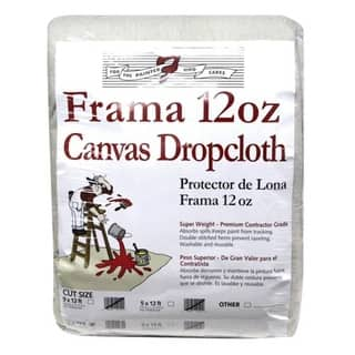Trimaco 1203 Frama Drop Cloth Runner 12' x 15', 12 Oz|https://ak1.ostkcdn.com/images/products/is/images/direct/e36323bc87ff74c7318c7f8513d4a3dc2c512203/Trimaco-1203-Frama-Drop-Cloth-Runner-12%27-x-15%27%2C-12-Oz.jpg?impolicy=medium