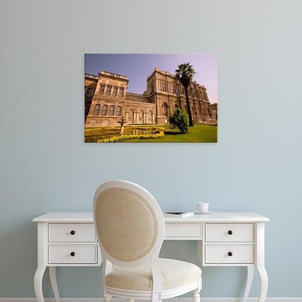 Easy Art Prints Walter Bibikow's 'Dolmabahce Palace' Premium Canvas Art