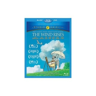 WIND RISES (BLU-RAY/DVD/2 DISC COMBO)