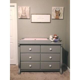 Delta Children Universal 6 Drawer Dresser Grey