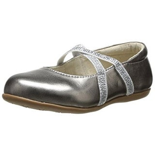 See Kai Run Maelee Leather Toddler Girls Flats
