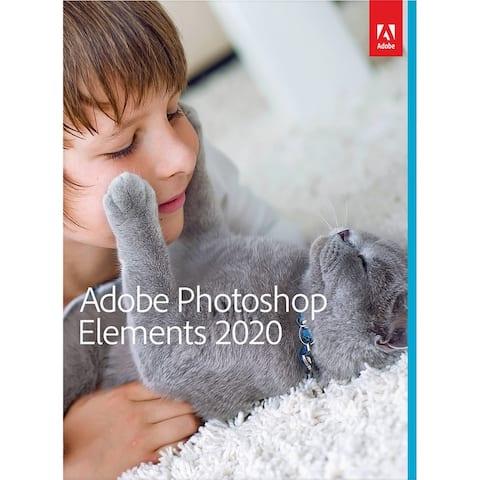 Adobe Photoshop Elements 2020 PC/Mac Disc - Multicolor