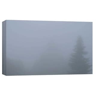 """PTM Images 9-103748  PTM Canvas Collection 8"""" x 10"""" - """"Foggy Morning 4"""" Giclee Forests Art Print on Canvas"""