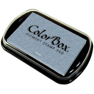 ColorBox Metallic Pigment Ink Pad-Silver - Silver